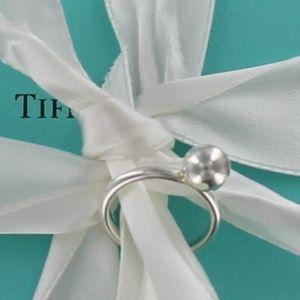 NEW Tiffany & Co HardWear Ball Ring 925 box pouch